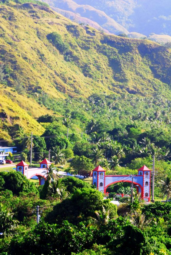 to Never Never Land.....Umatac Village on the
