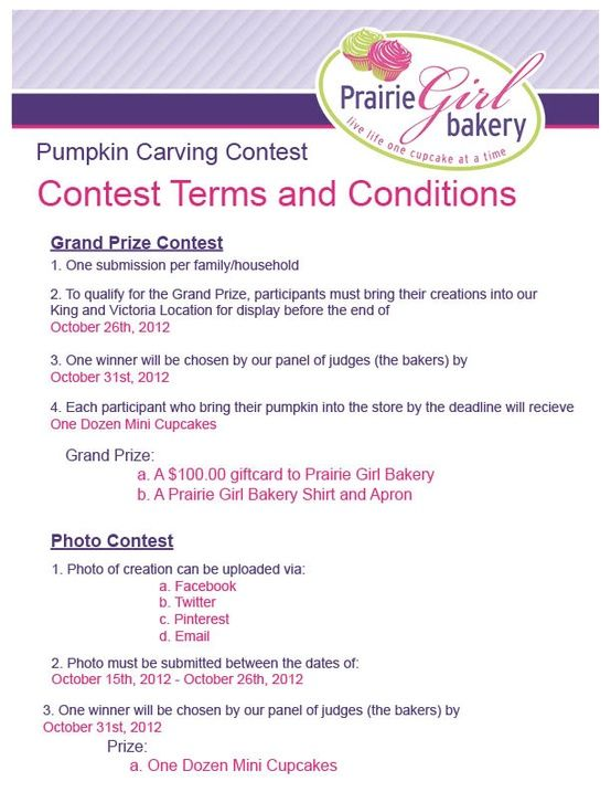 Pumpkin carving contest terms and conditions read carefully to pumpkin carving contest terms and conditions read carefully to see how you can participate and win games fundraising ideas pinterest fundraising pronofoot35fo Gallery