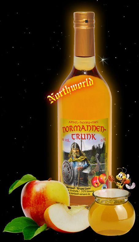 """Normannen Met Northworld Honey Mead """"Norman's Drink"""""""