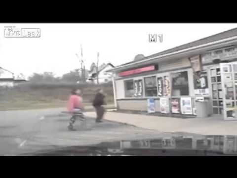Officer Shoots Teen At Party Store. Dashcam