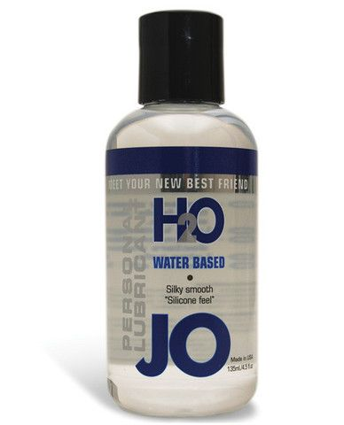 System Jo H2o Lubricant - 4.5 Oz - JO H2O Water-Based Lubricant has all the benefits of the Original System JO Personal Lubricant, similar in feel and viscosity, yet contains no oil, wax, or Silicone. JO H2O is 100% latex safe and manufactured under strict U.S. FDA guidelines. JO H2O has a silky, smooth feeling, never sticky or tacky and is Vitamin E enriched. It is long lasting, fragrance free, and washes off easily.