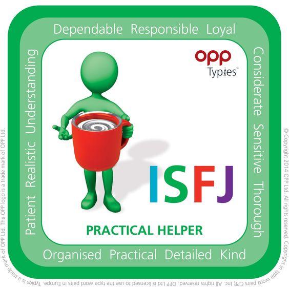 ISFJ Typie