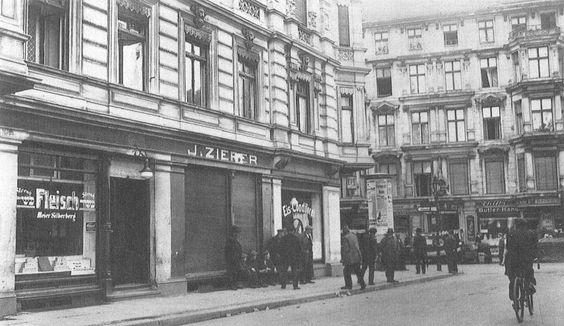 Hirtenstraße Ecke Grenadierstraße 1930