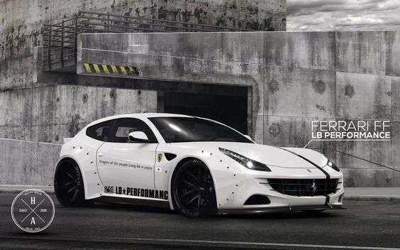 LB Performance Ferrari FF by ilPoli on DeviantArt