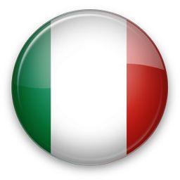 Resultado de imagen de bandera redonda italy