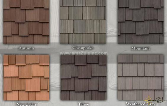 Synthetic Thatch Roofing | Faux Cedar Shake Tile | amaZulu Inc.