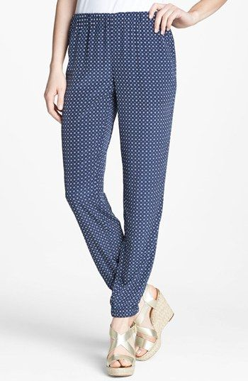 MICHAEL Michael Kors Pull-On Print Pants available at #Nordstrom