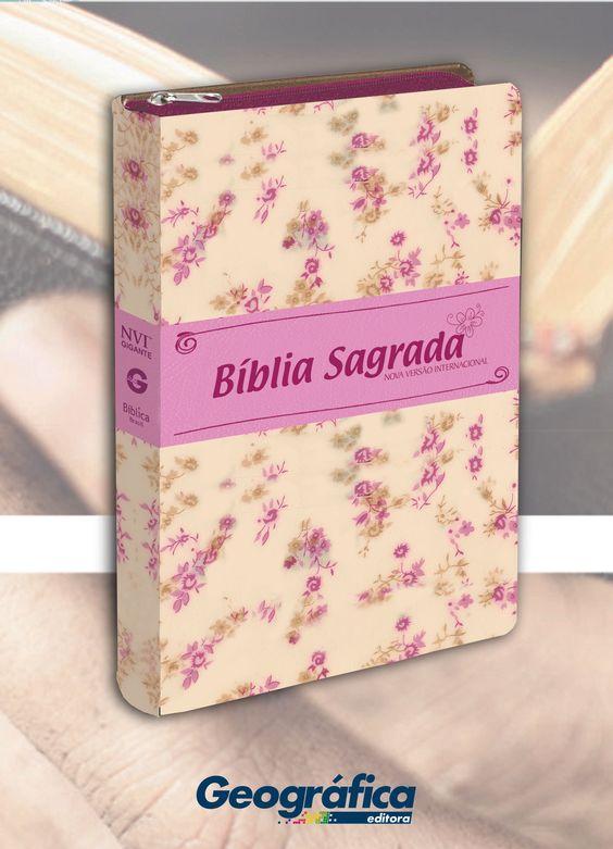 Bíblia NVI - Luxo Floral