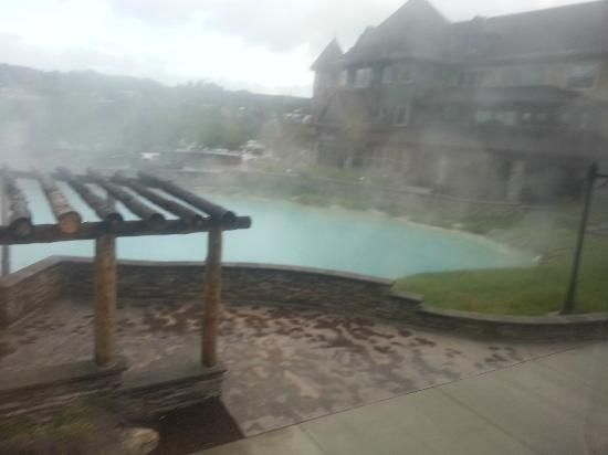 The Springs Resort & Spa: Nice Steamy View