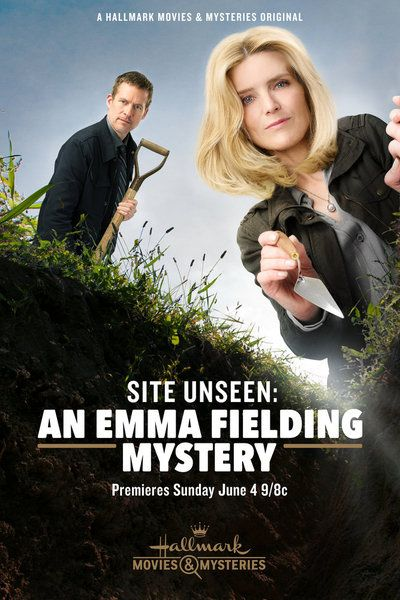 "Its a Wonderful Movie - Your Guide to Family and Christmas Movies on TV: Courtney Thorne-Smith and James Tupper star in ""Site Unseen: An Emma Fielding Mystery"" - a Hallmark Movies & Mysteries Original Movie!:"