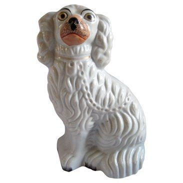 Check out this item at One Kings Lane! Antique Staffordshire Cavalier Spaniel