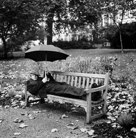 An American in London. Veronique Vial