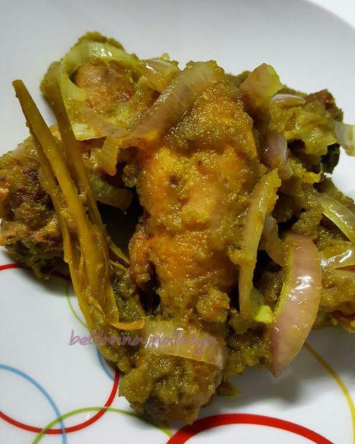 Resepi Ayam Masak Sambal Hijau Ini Adalah Bellarina Natasya Resep Masakan Malaysia Memasak Resep Makanan