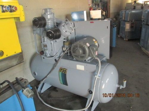 Ingersoll Rand 25hp Piston Compressor 120 Gallon Tank