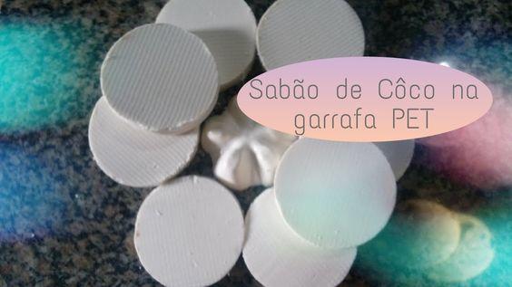 Sabão de Côco na garrafa PET
