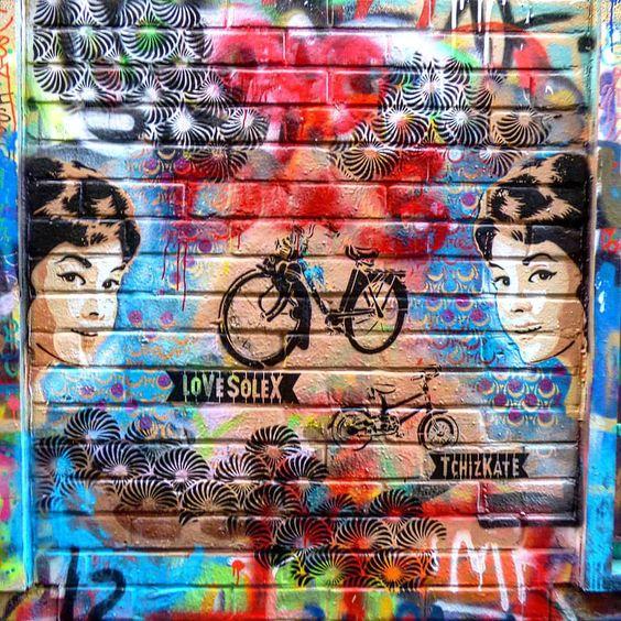 Werrengaren straat, callejon de los grafitis. Gante, Belgica.  @concursosdefotografia #cdfoto_veranoazul
