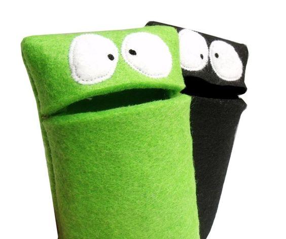 Smartphone Monster Nähanleitung - Nähanleitungen bei Makerist