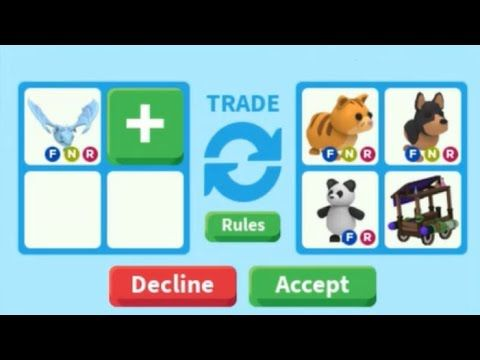 Trading Neon Frost Dragon In Adopt Me On Roblox Neon Frost Dragon Worth In 2020 Pet Adoption Certificate Pet Store Ideas Adoption