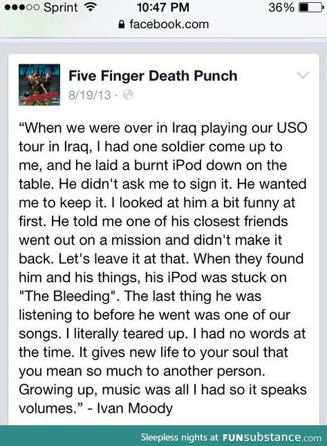 Oh Wow Huge Salute To Our Troops And A Huge Thanks To Ffdp And