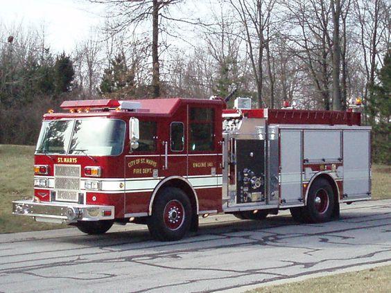City of St. Marys FD, St. Marys, OH - Engine 141 - 2005 Pierce Contender #stmarys #setcom #ohio #fire #trucks #firetrucks #engine #diesel http://setcomcorp.com/twin-talk-fire-wireless-headset.html