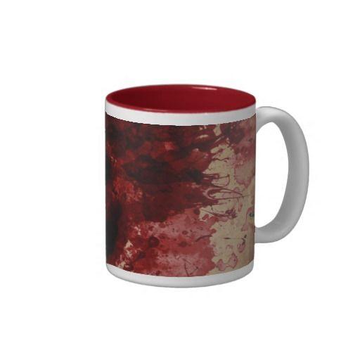 blood splatter coffee mugs - photo #1