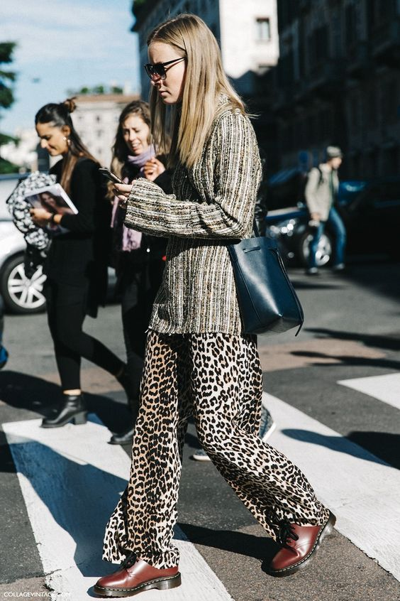 MFW-Milan_Fashion_Week-Spring_Summer_2016-Street_Style-Say_Cheese-Leopard_Trousers-