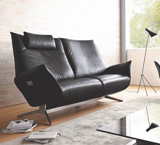 Canape Design Jewel Relax Tm 2 5 Places Electrique Sur Batterie Canape Relax Canape Design Canape Cuir Noir