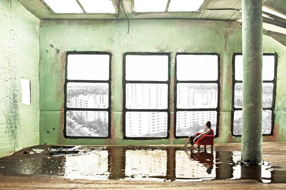 "Saatchi Online Artist: Julia Breit; Giclée, 2012, Photography ""the Memory of a Room"""