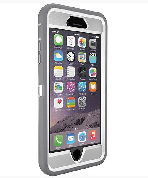 Otterbox Defender Back Cover Apple iPhone 6 Plus Grijs