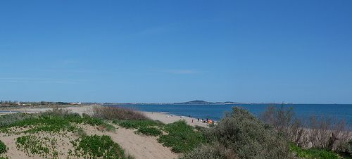 Sérignan-Plage with Cap d'Agde in the distance. #Belvedere #Quarante #Herault #Languedoc