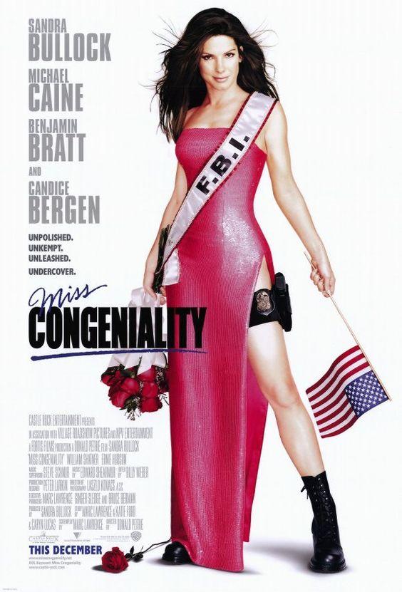 Miss Congeniality 11x17 Movie Poster (2000)