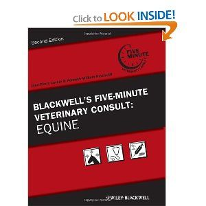 Blackwell's five minute veterinary consult: Equine by Lavolie and Hinchcliff