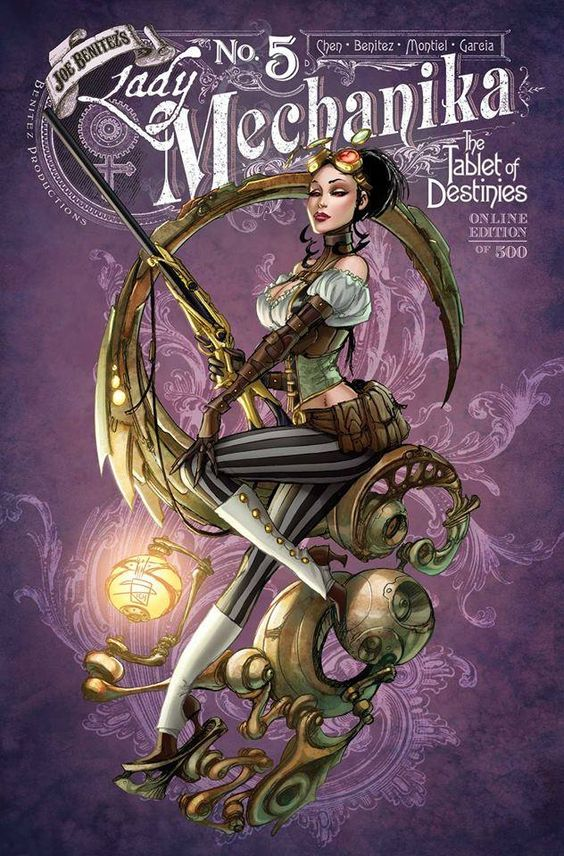 Lady Mechanika #5 by El Joe Benitez, colours by... - Art Vault