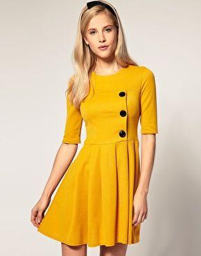 ASOS Pleated Skirt Dress