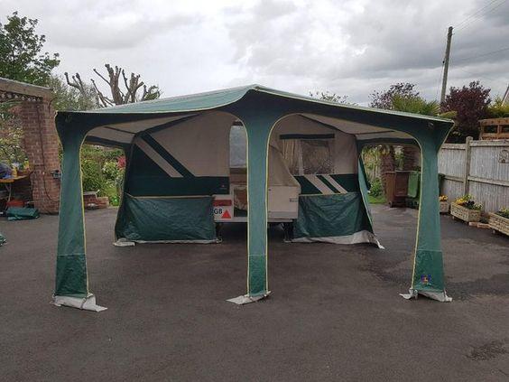 Preloved Caravan Porch Awnings - HOME DECOR