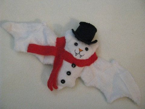 Frosty The Snowman Bat Cup Sleeve by batgirl93 on Etsy, $16.00