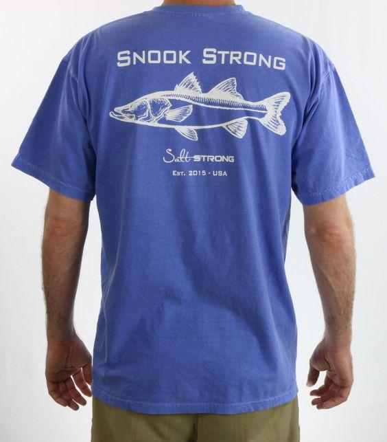 Snook Strong Cotton T-Shirt