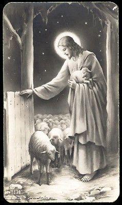 santino-holy card ediz. AR n.2879 GESU' BUON PASTORE