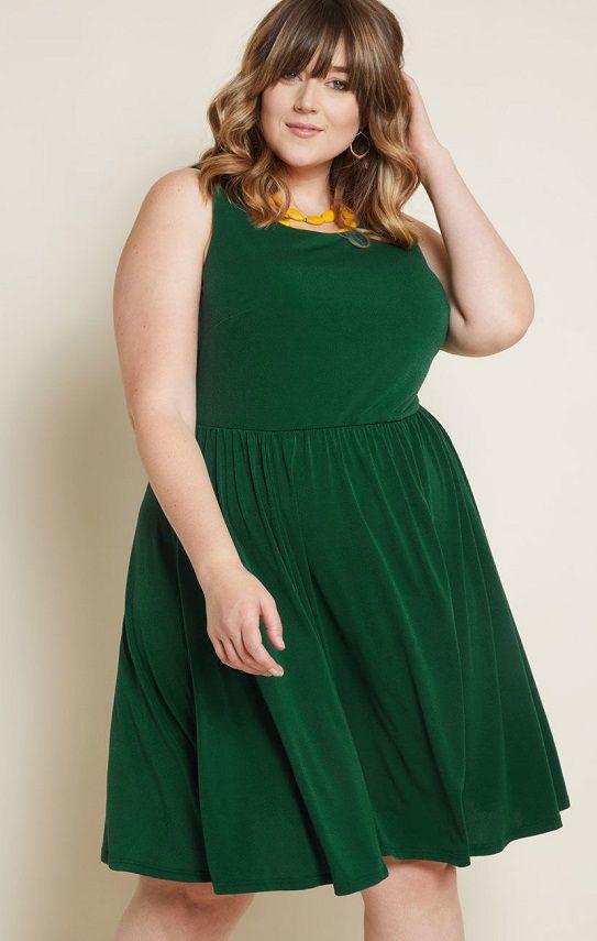 29+ Green plus size dress ideas in 2021