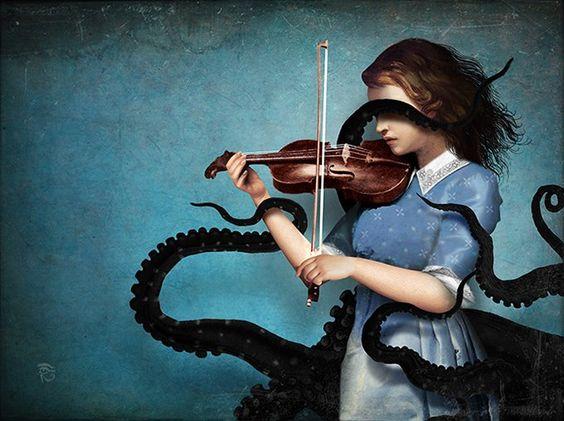 Christian Schloe, Sonata, arte digitale