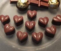 Nut Hearts - Rocher Pralinen