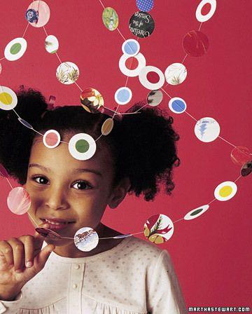 24 paper crafts for kids from Martha Stewart