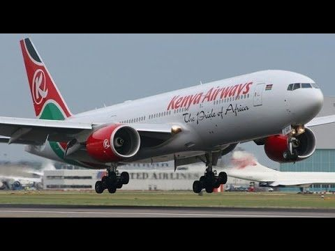 KENYA AIRWAYS FIRST 787 DREAMLINER'S MAIDEN COMING HOME FLIGHT FROM SEATTLE