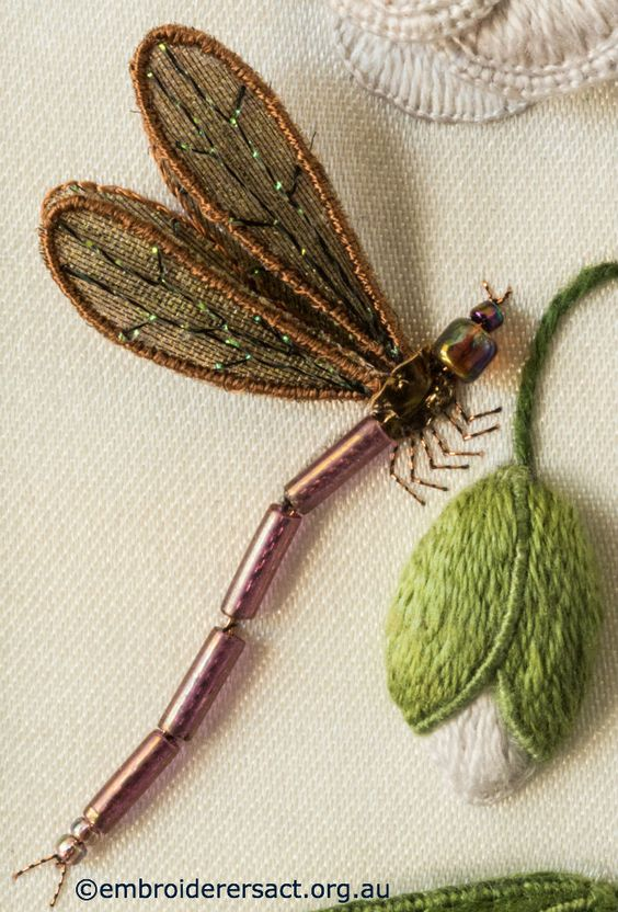 Dragonfly-from-Stumpwork-Panel-with-White-Flower-by-Lorna-Loveland.jpg 700×1.033 pixels: