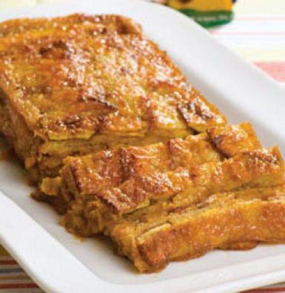 Receta de una sabrosa torta de Plátano | Portal Barinas