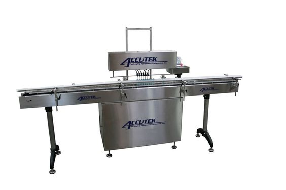 Make your job of filling liquids into bottles and containers quite easier with Acccutek Packaging's  filling machines.
