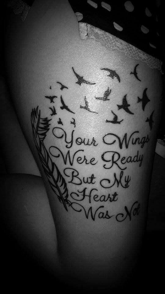 miscarriage tattoo baby tattoos pinterest miscarriage tattoo quotes and birds. Black Bedroom Furniture Sets. Home Design Ideas