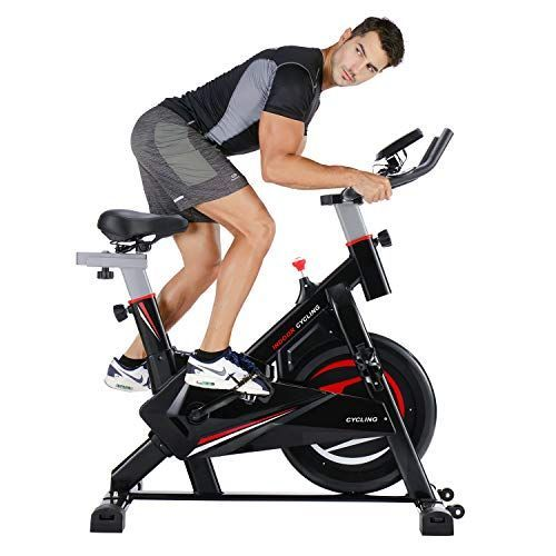 Merax Indoor Cycling Bike Trainer Stationary Exercise Bicycle