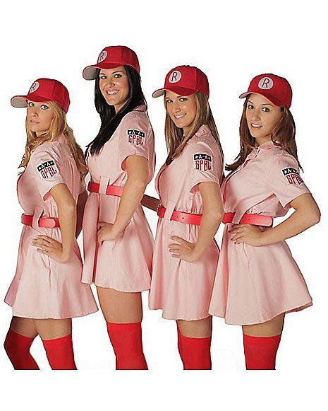 Rockford Peaches Adult Womens Costume - Spirithalloween.com