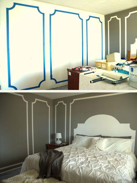 5 Cool Painter S Tape Techniques Interior Design Paint Home Decor Wall Paint Designs